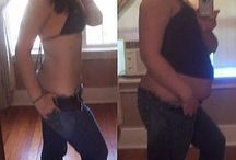 Weight loss/Fitness Before and Afters / Before and afters of people who have lost weight. / by Tiffany Shaw