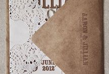 Wedding Invitation Design  / by Frances Corkill