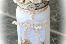altered jars / by Medase Design