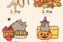 ★★Pusheen/Hello Kitty ★★ / The cutest cats there are in the world!<3 / by φ(・ω・♣)☆・゚:* Cherri φ(・ω・♣)☆・゚:*