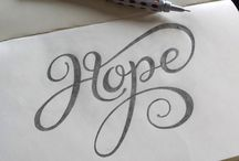 Lettering / by Lindee Miller Goodall