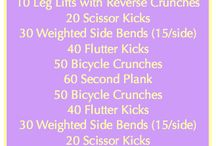 Workouts / by Kristin Bell