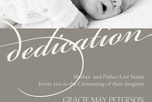 Baby K dedication / by Katie Tancredi