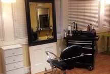 Salon / my salon and other cool idea / by Darlene Michaud-Somerville
