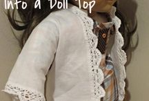 "18"" doll clothes patterns / by Jennilyn Rock"