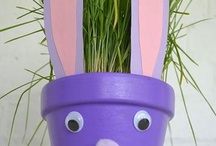 Plant Pot Craft / by Mama Womble