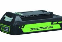GreenWorks NEW Enhanced 24V / by GreenWorks Tools