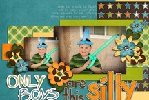 CRAFTS:  Scrapbook Pages / by Tammy Skinner