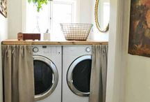 Laundry Rooms / by Amy Kelly | That Winsome Girl