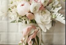 White and soft pink wedding / by MyItalian Wedding