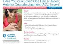 Orthopaedics and Sports Medicine News and Research Studies / Find information, news and clinical trials (or research studies) about orthopaedics and sports medicine from Cincinnati Children's. / by Cincinnati Children's Clinical Research Studies