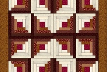Log Cabin Quilt Kits For Sale / by Quilt Kit Shop pre-cut kits