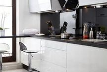 kitchen and living room / by Dorota Laskawiec- Sutor