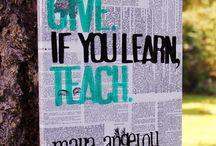 For the love of...Teaching! / by Teresa Abulafia