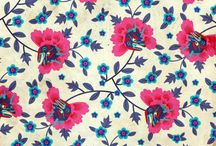 textiles & patterns - floral / by Karla Nunes