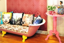Glam inspired rooms / by Trecy Loves