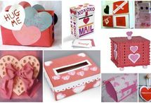 Valentine boxes / by Mona Hicks