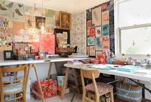 HOME: Craftroom / by Silke Sarens