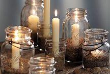 mason jar ideas / by Robyn Welch