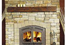 Basement fireplace / by Rebecca Yaseniuk