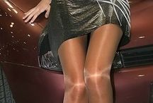 Glossy tights and pantyhose  / Anything really to do with glossy legs / by J Brent