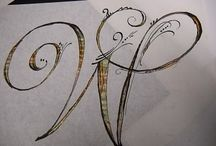 letters / by Gretchen Konieczko