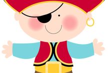 Pirate Theme Teaching School Home Parties / Arrrg  I will let you take all my gold free / by Linda McRea