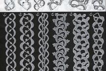 I'm Hooked Edgings / crocheted edgings / by Pat Glidewell