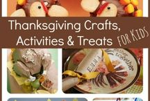 Thanksgiving Crafts/ Activities / by Angela Cairns