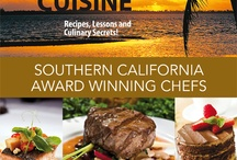 California Coastal Cuisine Cookbook / CALIFORNIA COASTAL CUISINE cookbook, showcases Southern California award winning chefs and their creations through video content using QR codes.  This cookbook truly transforms the current dissemination of recipes by photo illustrations to the next generation utilizing video instructions!  This is all made possible through QR codes.  QR codes-or quick response codes allow anyone with a smart phone to easily step between the digital and physical worlds.     / by The Restaurant Whisperers