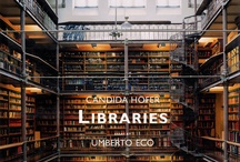 BOOKS LIBRARIES: Public & Scholarly / Some amazing BOOKSTORES are added for their beauty and the endless possibilities. / by RedSeaCoral