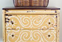 Painted dressers / by Jayne Paulowske-Singer