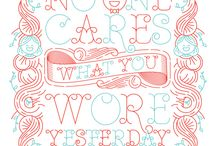Design and lettering / by Kelli Fisher