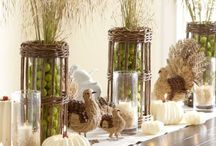 "Fall/Thanksgiving Decorating Ideas / by JWS Interiors ""Affordable Luxury"" Blog"