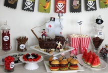 Itsy Belle's Pirate Party / Pirate Birthday Party Printables, Dessert table, Inspiration / by Christy of Itsy Belle