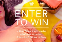 Pickwick & Weller P&W Summer Giveaway #win #giveaway #sweepstakes / by Linda Ann