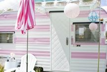 dream living on the go / I am dreaming of a little trailer. This way I can travel to visit family and camp in style. / by Dawnna Morris