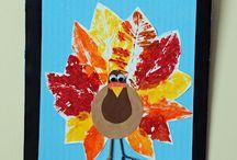 Thanksgiving crafts / by BlogMeMom