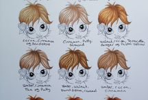 Pro markers / Pro marker hints and tips / by Rhonda Sadler