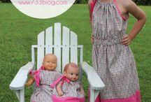 """18"""" dolls, 15"""" dolls / by Monica L"""