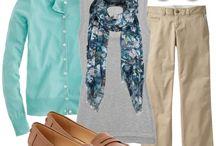 Martha's Teacher Clothes / by Lauren