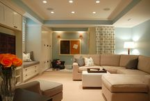 Basement Ideas / by Sarah Hemsley