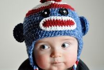Baby/Kids hats / by Tammy Wood