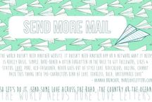 Snail Mail / by Justine McConnell