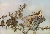 fairies / by Bonnie Lecat Designs