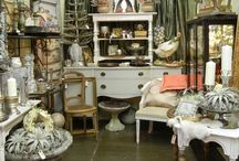 Antique booth ideas / by Amy Christian-Branson