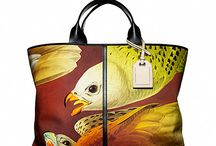Limited Edition Birds of Paradise Track Totes / Reed Krakoff presents a series of limited edition Track Totes with distinctive bird printed motifs available exclusively at ReedKrakoff.com / by Reed Krakoff