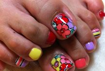 Toe nail design / by Anush Kirakosian