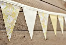 Wedding Bunting Love / Wedding buntings, buntings, buntings! / by IntimateWeddings.com