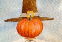 Thanksgiving Decorations / by Frances Schultz
